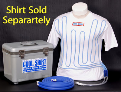 Large photo of Cool Shirt 24 Quart Club System, Cooler and Hoses Only, Pegasus Part No. CS2010
