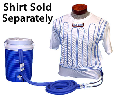 Large photo of Cool Shirt 10 quart Round-Tank System - Less Shirt, Pegasus Part No. CS2020