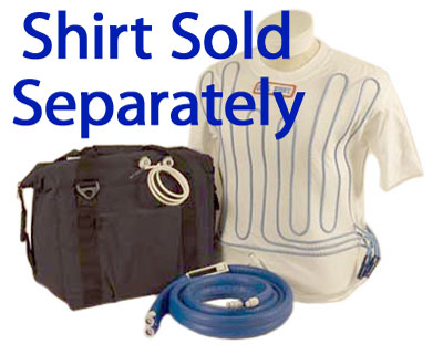 Large photo of Cool Shirt 12 Quart Portable Bag System, Cooler, Hoses only, Pegasus Part No. CS2200