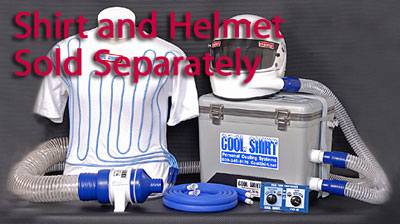Large photo of Cool Shirt Pro Air & Water System, 12 Quart - Less Shirt, Pegasus Part No. CS2300