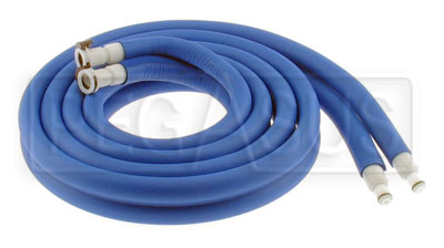 Large photo of Cool Shirt Insulated Water Hose Set, 8 foot length, Pegasus Part No. CS475