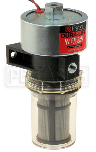 Large photo of Facet Dura-Lift Fuel Pump, 33gph, 120 Inch Dry Lift, Pegasus Part No. FAC-40222