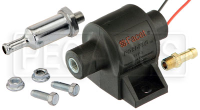 Large photo of Facet Posi-Flo Low Pressure Fuel Pump Kit, 32 GPH, Pegasus Part No. FAC-FEP06SV