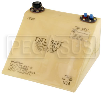 Large photo of Fuel Safe 5 Gallon Formula Car Pro Cell, Right Filler, Pegasus Part No. FS CB301