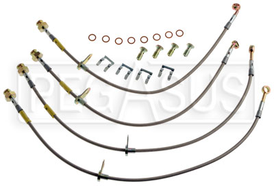 Large photo of G-Stop Brake Line Set, 2010 Chevrolet Camaro SS, Pegasus Part No. GS-12219