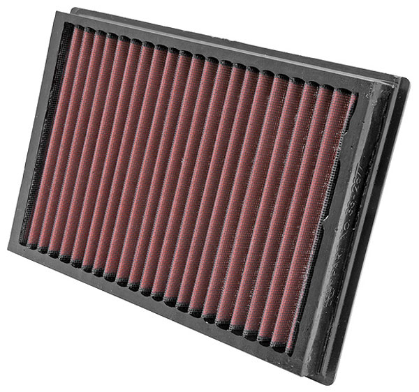 Large photo of K&N Air Filter, Ford Focus II, Volvo S40/V50, 2004-07, Pegasus Part No. KN 33-2877