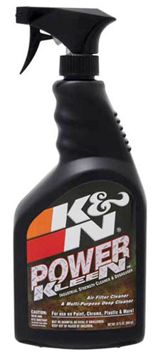 Large photo of K&N Power Kleen Cleaner and Degreaser, 32oz, Pegasus Part No. KN 99-0621