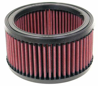 Large photo of K&N Filter Element, Round (5.875 OD x 4.375 ID x 3 H), Pegasus Part No. KN E-2410