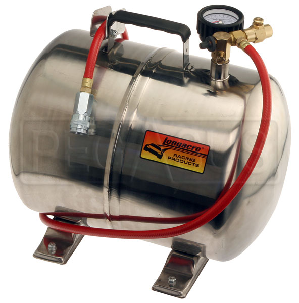 Large photo of Longacre Aluminum Portable Air Tank, 5 Gallon, Pegasus Part No. LA50316