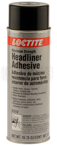 Large photo of (HAO) Loctite Maximum Strength Headliner Adhesive, Pegasus Part No. LT-37312