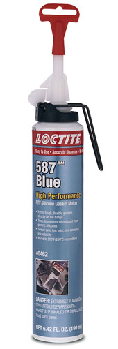 Large photo of (HAO) Loctite 587 Blue RTV Silicone Gasket Maker, Power Can, Pegasus Part No. LT-40462