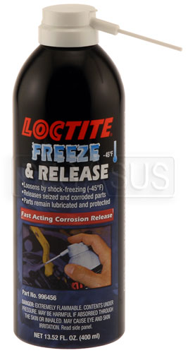 Large photo of (HAO) Loctite Freeze and Release, 400ml Aerosol, Pegasus Part No. LT-996456