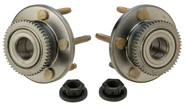 Large photo of Ford FR500S Front Hub Kit with Studs (pair), Pegasus Part No. M-1104-A