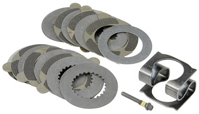 "Large photo of Ford 8.8"" Traction-Lok LSD Rebuild Kit, Carbon Plate Upgrade, Pegasus Part No. M-4700-C"