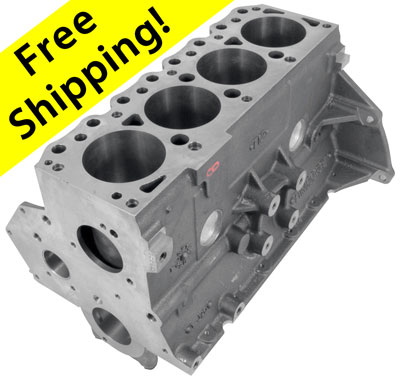 Large photo of Ford 1.6L 4-Cylinder Lotus Engine Block, New, Pegasus Part No. M-6010-16L