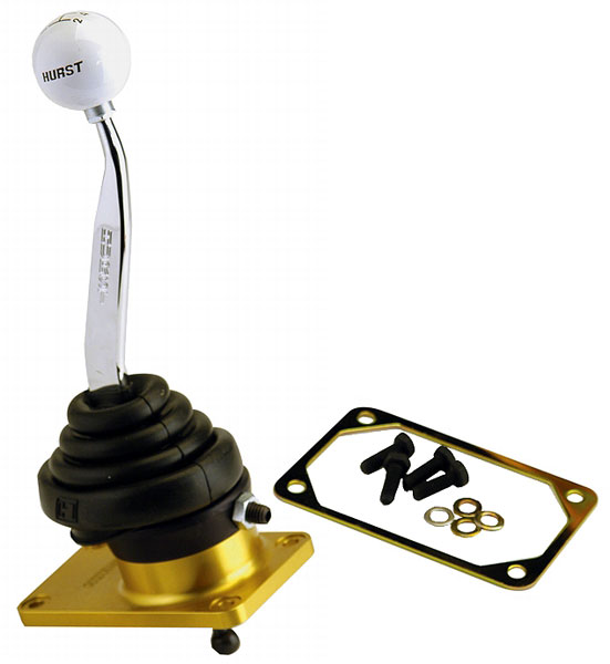 Large photo of Ford Racing '79-04 Mustang T5/T45 Hurst Shifter, Pegasus Part No. M-7210-M