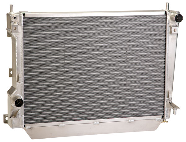 Large photo of 2005-12 Ford Mustang GT Radiator, Pegasus Part No. M-8005-MGT