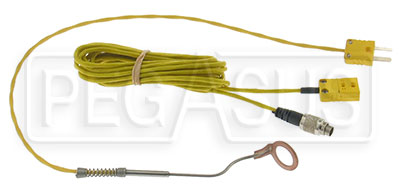 Large photo of MyChron 14mm CHT Thermocouple Kit with 712 Adapter Cable, Pegasus Part No. MC-013