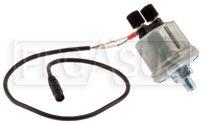 Large photo of AiM VDO 0-150 psi (10 Bar) Oil Pressure Sensor w/ Cable, Pegasus Part No. MC-320