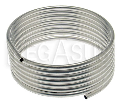 Large photo of OMP Aluminum Tubing for 0.9 & 1.3L Fire Systems, 8mm x 5m, Pegasus Part No. CLOMP-CD323N8