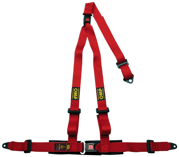Large photo of OMP Strada 3 Harness, 3-Point w/Removable Shoulder Harness, Pegasus Part No. OMP-DA509-Color