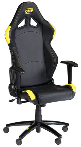 Large photo of OMP Swivel Office Chair, Pegasus Part No. OMP-HA/777-Color