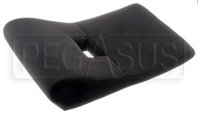Large photo of OMP Seat Bottom Cushion for HTE, Pegasus Part No. OMP-HB696-Size-Color