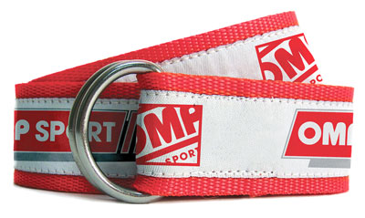 Large photo of OMP Sport Line Nylon Belt, Pegasus Part No. OMP-OR5003-Size