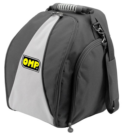 Auto Racing Supplies on Large Photo Of Omp Hans Helmet Bag With Visor Sleeve  Pegasus Part No
