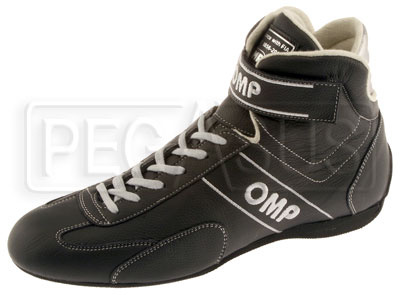 Large photo of OMP Daytona Driving Shoe, FIA Approved, Pegasus Part No. OMP003-Size-Color