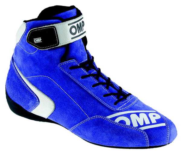 Large photo of OMP First-S Driving Shoe, FIA Approved, Pegasus Part No. OMP008-Size-Color