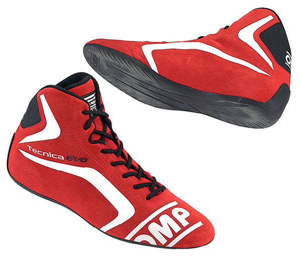Large photo of OMP Tecnica Evo Driving Shoe, FIA Approved, Pegasus Part No. OMP009-Size-Color