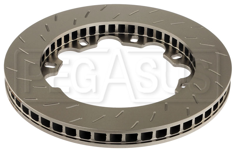 Large photo of PFC Brake Disc for IRL IPS Dallara, World Series Renault, RH, Pegasus Part No. PF281-250042-06