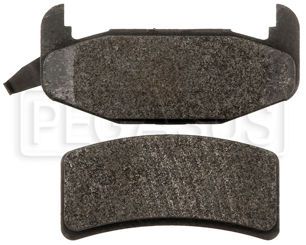 Large photo of PFC Street Brake Pad, Olds Cutlass Rear (D377), Pegasus Part No. PF377S