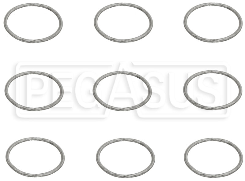 Large photo of PFC ZR55 Piston Cap O-Ring Retainers, 41.0mm, Pegasus Part No. PF900-900107-02