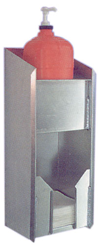 Large photo of Pit Pal Hand Cleaning Cabinet with Towel Dispenser, Pegasus Part No. PP210