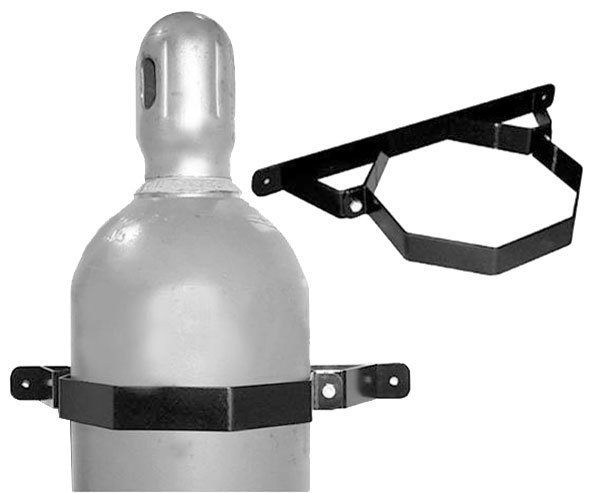 Large photo of Pit Pal 9.25 inch Nitrogen Bottle Storage Cradle (pair), Pegasus Part No. PP257