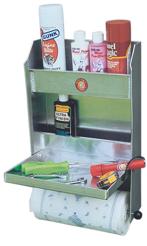 Large photo of Pit Pal Junior Trailer Door Cabinet, Pegasus Part No. PP321