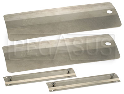 Large photo of Pit Pal Aluminum Threshold Bridges, pair, Pegasus Part No. PP705