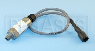 Large photo of SPA Spare Pressure Sensor with Lead, 1/8 NPT, Pegasus Part No. PSU16