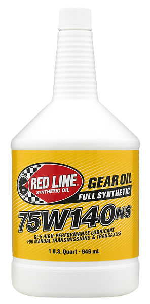 Large photo of Red Line Synthetic Non-Slip Gear Oil (NS), Pegasus Part No. RL002-Viscosity-Quantity