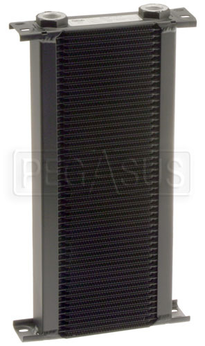 Large photo of Setrab Series 1 Oil Cooler, 50 Row, M22 Ports, Pegasus Part No. SET-150-7612