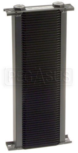 Large photo of Setrab Series 1 Oil Cooler, 60 Row, M22 Ports, Pegasus Part No. SET-160-7612