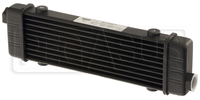 Large photo of Setrab SLM Series Oil Cooler, 10 Row, M22 Ports, 250mm Core, Pegasus Part No. SET-53-10744