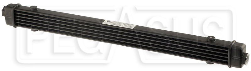 Large photo of Setrab SLM Series Oil Cooler, 6 Row, M22 Ports, 592mm Core, Pegasus Part No. SET-53-10749
