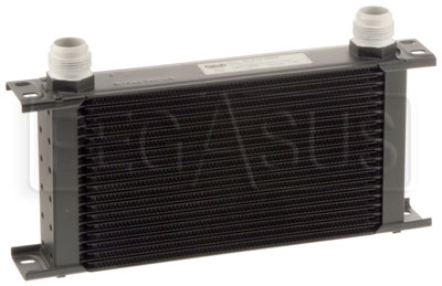 Large photo of Scratch & Dent Setrab Series 6 Oil Cooler, 19 Row/AN16 Ports, Pegasus Part No. CLSET-619-4064