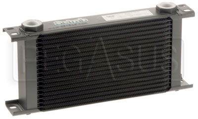 Large photo of Setrab Series 6 Oil Cooler, 19 Row, M22 Ports, Pegasus Part No. SET-619-7612