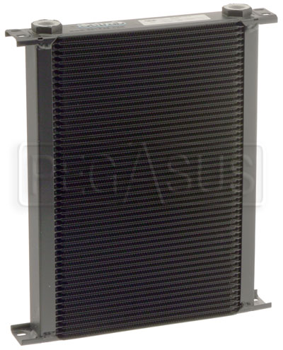 Large photo of Setrab Series 6 Oil Cooler, 50 Row, M22 Ports, Pegasus Part No. SET-650-7612