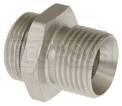 Large photo of Setrab M22 to 1/2 BSP Adapter, Straight, Pegasus Part No. SET-M22BSP08-SE