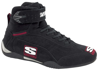 Large photo of Simpson Adrenaline Shoe, SFI Approved, Pegasus Part No. SIMP-ADSHOE-Size-Color